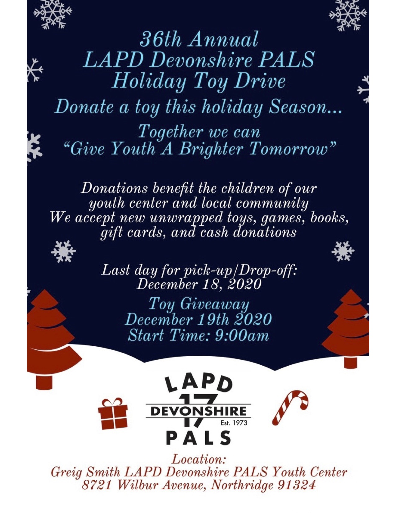 PALS Toy Drive