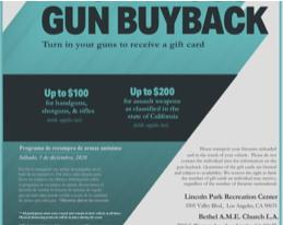 Gun buy-back flyer