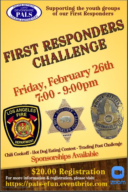 First Responders Challenge flyer