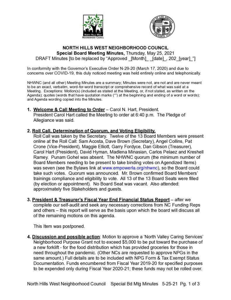 thumbnail of NHWNC DRAFT Minutes 2021-5-25 Spcl Bd
