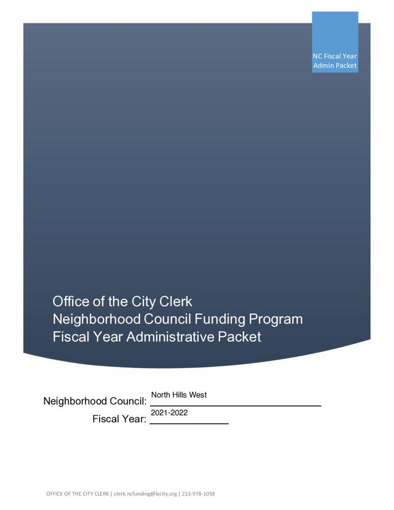thumbnail of NCFP AdminPacket-AnnualBudget Gen 2021-2022