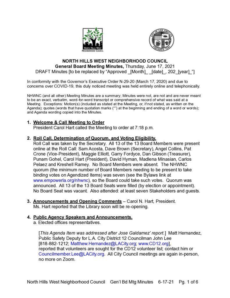 thumbnail of NHWNC DRAFT Minutes 2021-6-17 Bd