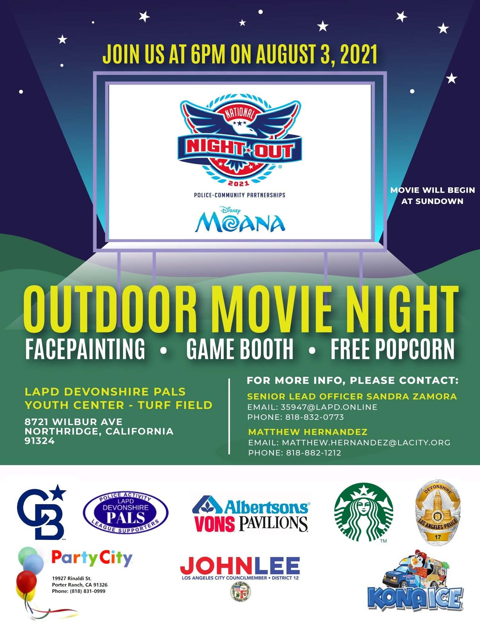 Nat'l Night Out flyer