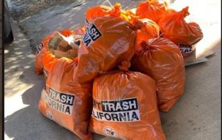 bags of trash