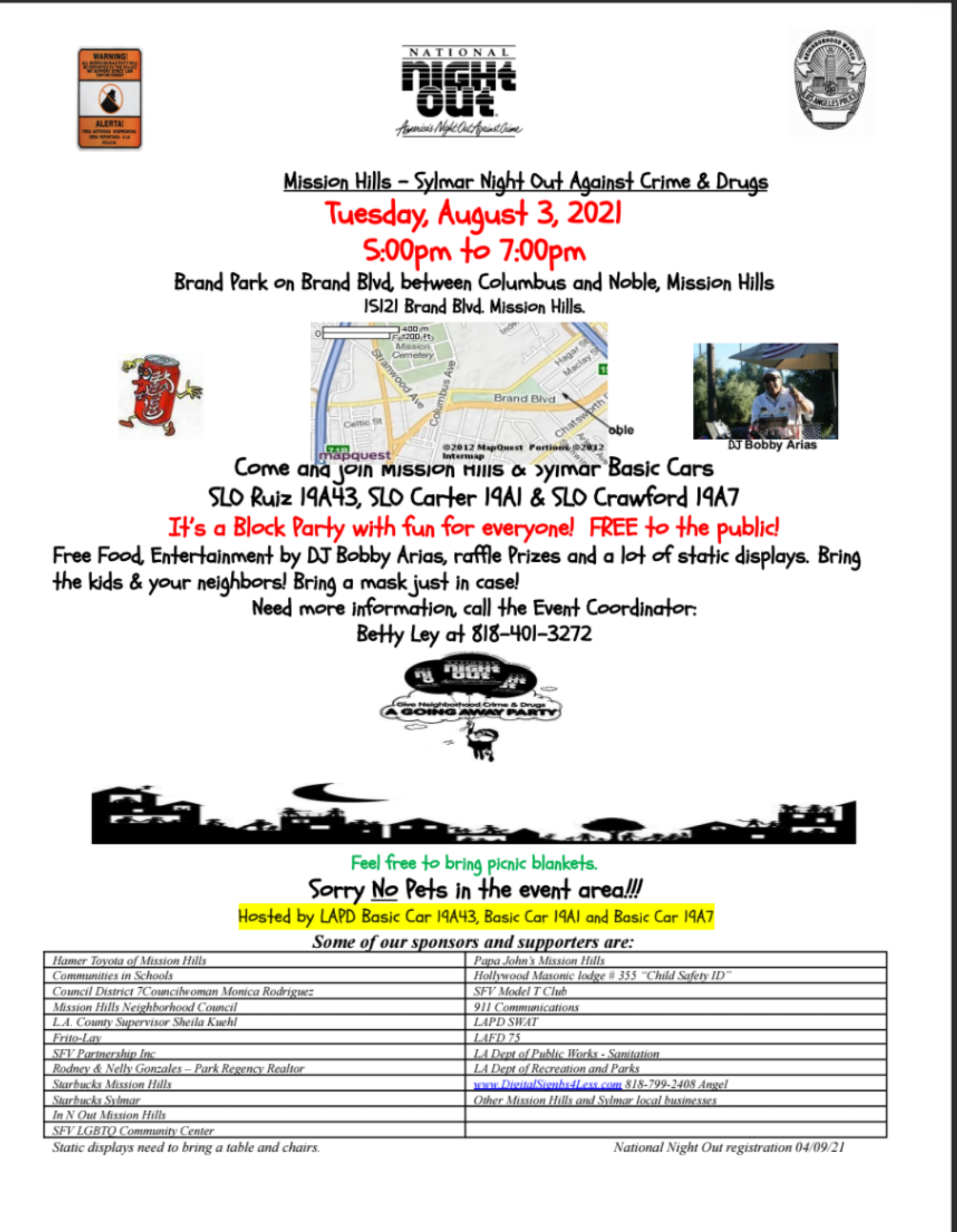 National Night Out Event