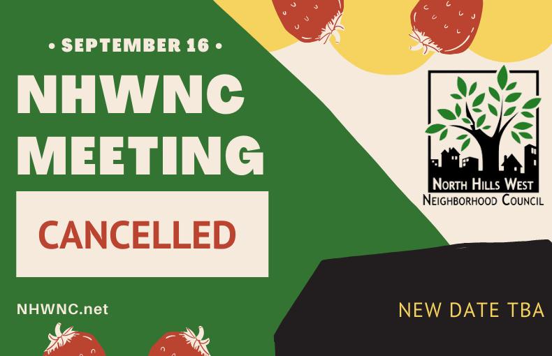 NHWNC Board Meeting-Cancelled