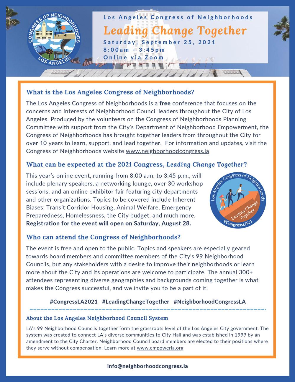 Congress of Neighborhoods
