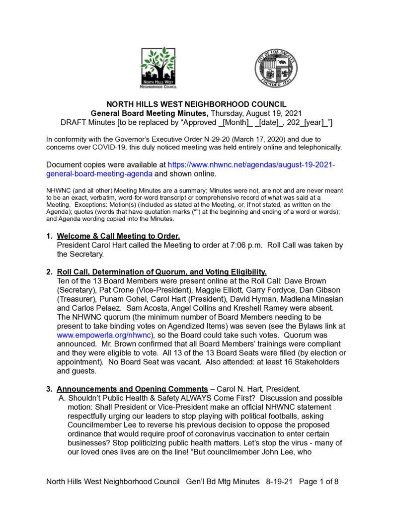 thumbnail of NHWNC DRAFT Minutes 2021-8-19 Bd