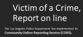 LAPD CORES ad